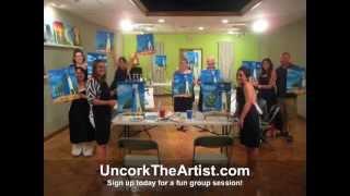 Group art Classes, Toledo Ohio by Uncork The Artist