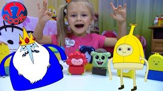 Хэппи Мил МакДональдс МНОГО ИГРУШЕК из Мультфильма Время Приключений Видео для детей Adventure Time