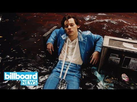 Harry Styles Debuts at No. 1 on Billboard 200 Albums Chart | Billboard News