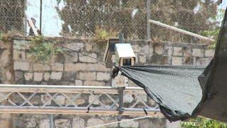 Israel installs security camera at Jerusalem holy site