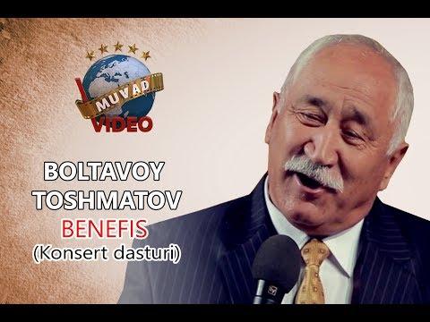 Boltavoy Toshmatov Benefis (Konsert dasturi)