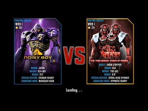 Real Steel WRB I FINAL Noisy Boy VS Twin Cities (champion) NEW UPDATE (Живая Сталь)