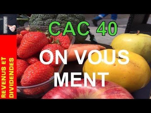 CAC 40 : POURQUOI ON VOUS MENT !
