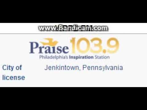 WPPZ-FM Praise 103.9 Jenkintown, PA TOTH ID at 3:00 p.m. 10/19/2014