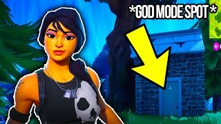 FORTNITE GLITCH | *NEW* SOLO / TEAM GOD MODE SPOT ON FORTNITE | Patch Request