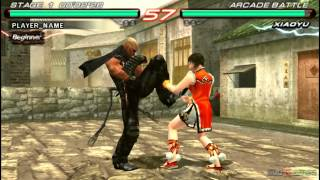 Tekken 6 - Gameplay PSP HD 720P (PPSSPP) - part 1