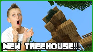 I COMPLETELY CHANGED THE TREEHOUSE!
