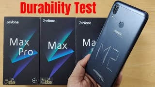 Asus Zenfone Max M2 Durability Test (DROP, SCRATCH, WATER, BEND) Test !