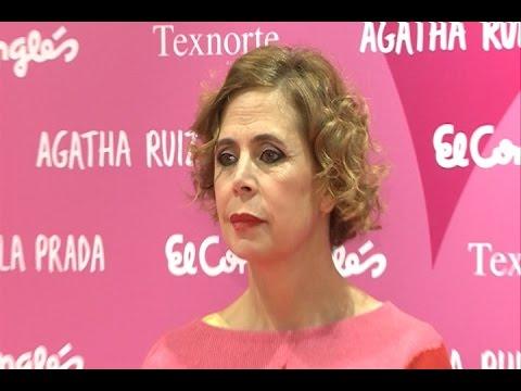 Ágatha Ruiz de la Prada reaparece tras su separación