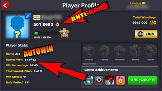 8 Ball Pool Unlimited Coins, Guideline, AntiBan ,AutoWin ENABLE
