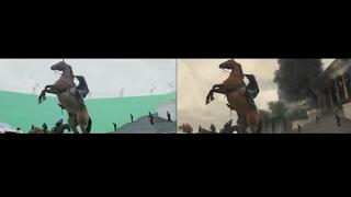 Batman vs Superman: A Origem da Justiça - Antes e Depois: Efeitos Visuais [Zack Snyder]