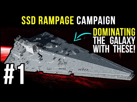 NEW Campaign With 2 Super Star Destroyers! | Empire At War - SSD Rampage #1