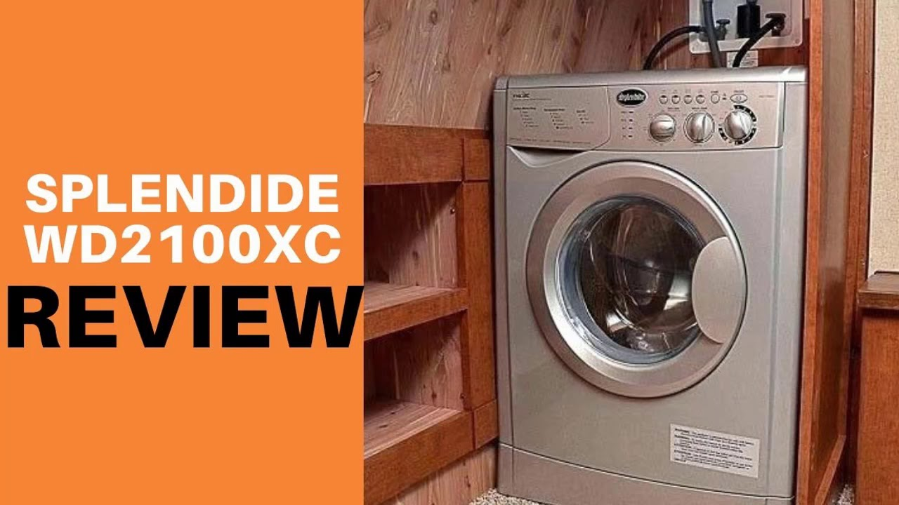 Splendide WD2100XC White Vented Combo Washer//Dryer