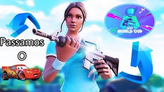 WE PASSED THE CAR IN THE WORLD CUP!? -Fortnite-@LyonsBlue