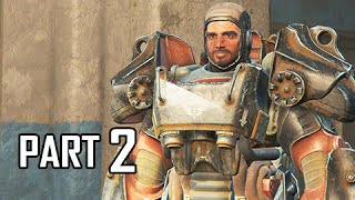 Fallout 4 Walkthrough Part 2 - Brotherhood of Steel (PC Ultra Let