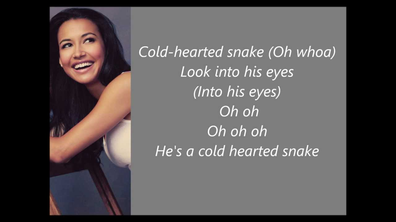 Cold Hearted - Glee [Lyrics]