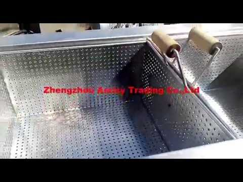 Frying Machine With Burner, Potato Chips Machinery