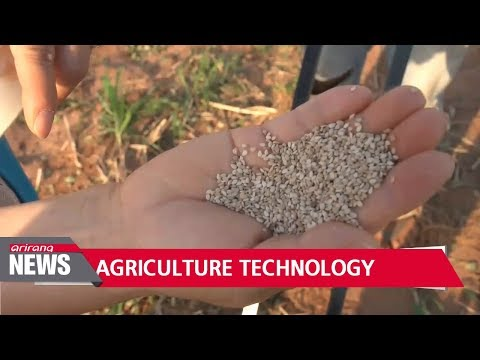 Korean agricultural technologies help prevent food shortages in developing nations