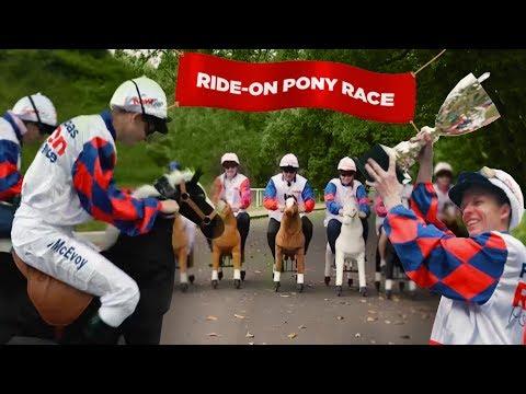 Ride-on Pony Race 2018 With Fitzy & Wippa
