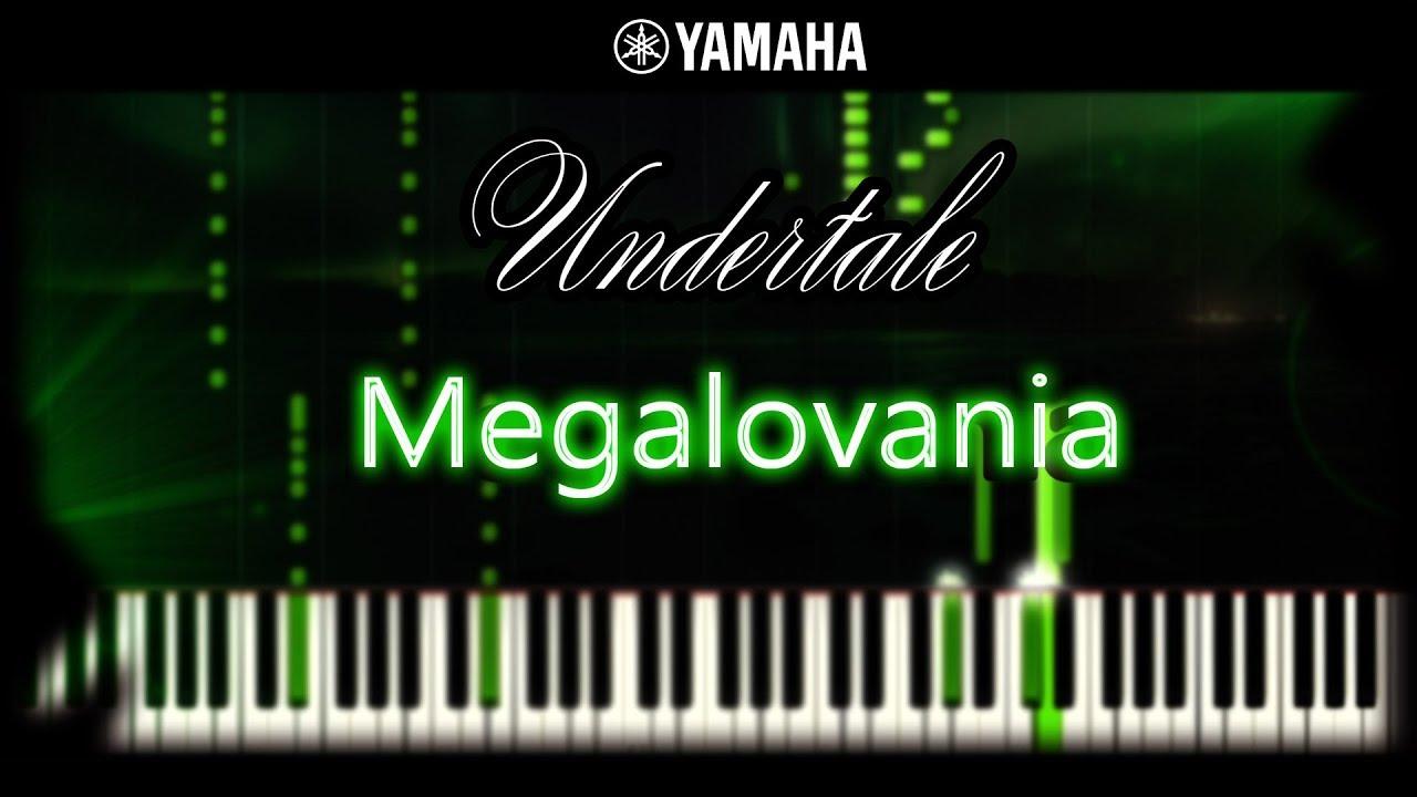 Undertale Megalovania Piano Cover Tutorial Sheet Music Midi