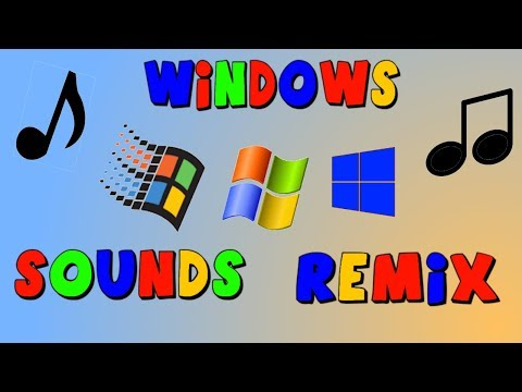 WINDOWS SOUNDS REMIX! (FULL VERSION) - YouTube