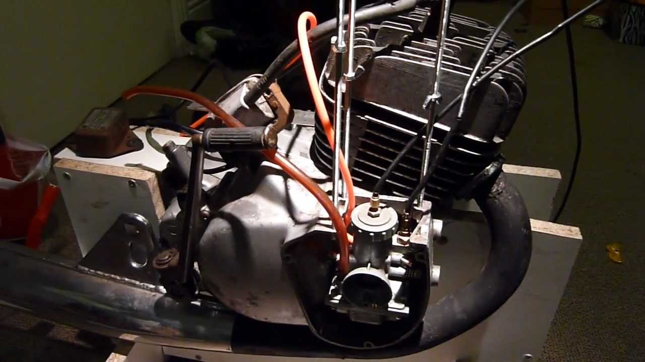 Suzuki gp100 engine project (part 6) Engine together and testing rig ...