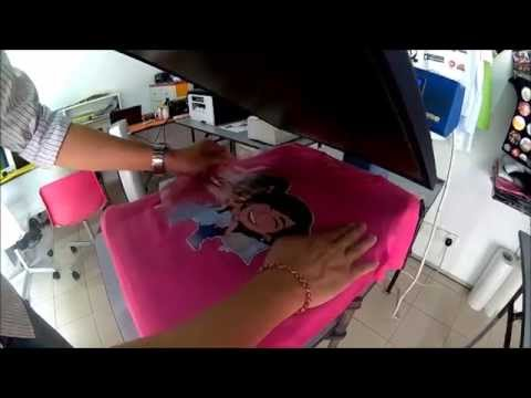 Heat Transfer Pu Vinyl Tshirt Printing Youtube