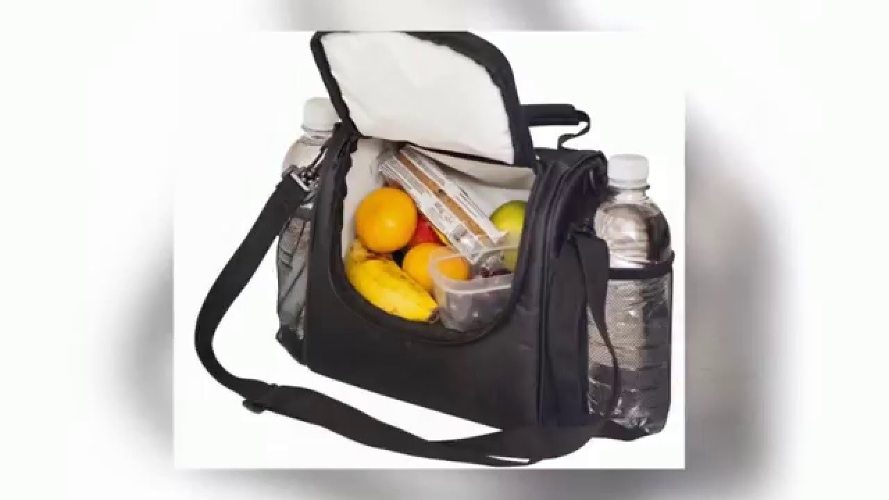 ladies lunch bag insulated lunch bag for women youtube. Black Bedroom Furniture Sets. Home Design Ideas