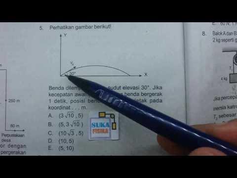 Gerak parabola -fisika SMA