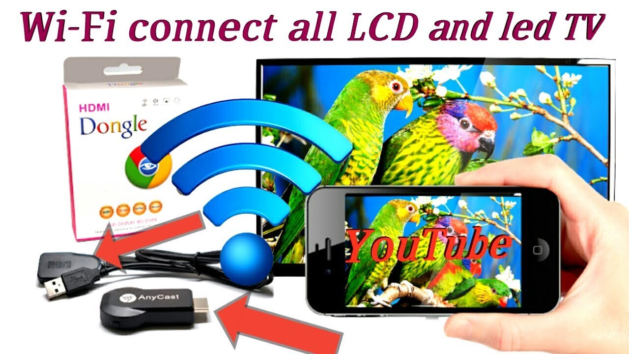 Download anycast how to connect smartphone to LCD and led tv hdim (circuit effects)