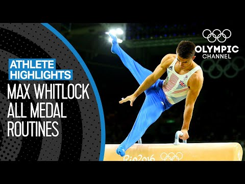 All Max Whitlock 🇬🇧 Medal Performances At The Olympics | Athlete Highlights