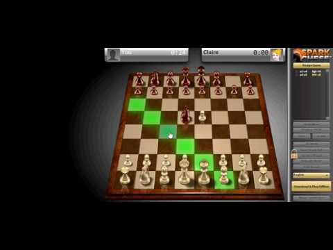 Win chess in 6 moves game