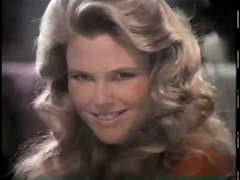 Christie Brinkley Commercial >> Prell Shampoo Conditioner Christie Brinkley 80s Commercial 1988