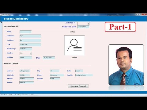 Student Management System In Access 2007 -Part1