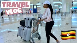 TRAVEL VLOG | FINALLY TRAVELING BACK HOME | UGANDA 🇺🇬