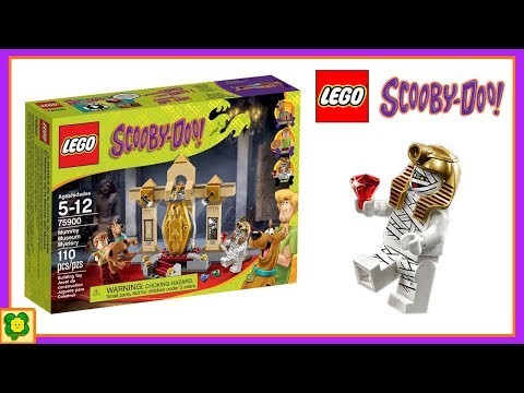 Lego Scooby Doo Brick Building Mummy Museum Mystery Stop Motion