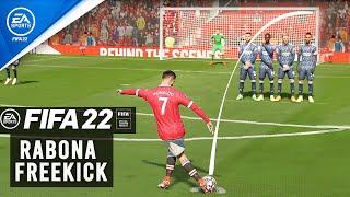 FIFA 22 : RABONA FREE KICK TUTORIAL
