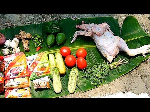 Deshi Chicken Recipe - Country Chicken Prepared | Deshi Chicken Recipe By Food Jungli