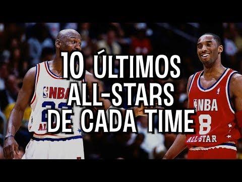 QUIZ: os 10 ÚLTIMOS ALL-STARS de CADA TIME da NBA!