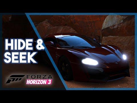 Forza Horizon 3 | Hide and Seek (Mini Game & Funny Moments)