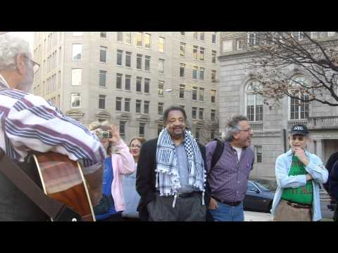 Rabbi David Shneyer at OCCUPY JUDAISM   11/27/11 at OccupyDC - 3 of 3