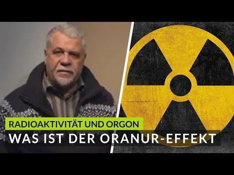Negativer Einfluss der NHS auf Mensch, Tier und Natur in Verbindung mit Radioaktivität.