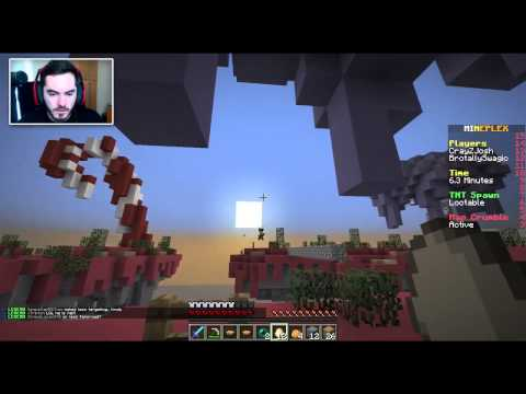 Minecraft: Sky Wars, Hunger Games and Other Stuffs
