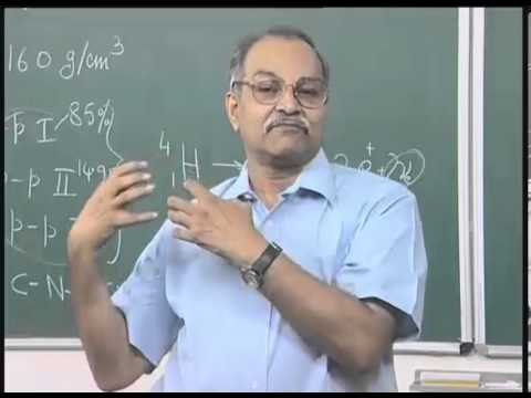 Mod-01 Lec-41 Nucleosynthesis of elements in Stars