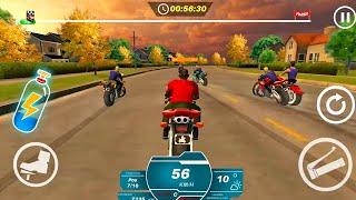 Juegos de Motos Para Niños - Super Carreras de Motos en La Ciudad