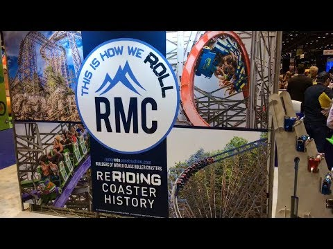 TPR Live! IAAPA Amusement Park & Roller Coaster Trade Show! Checking Out New Rides & Technology!