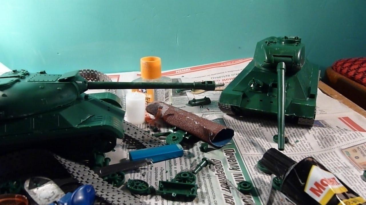 Сборная модель Zvezda Российские танкисты 3615