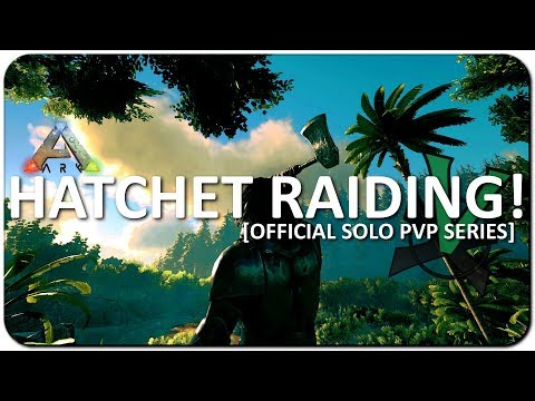 Early Game Raiding With Tools! | Official Solo PVP Series | ARK: Survival Evolved | #4