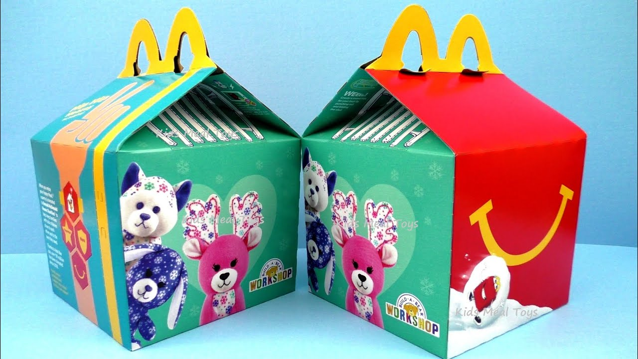 2015 McDONALDu0027S BUILD-A-BEAR HAPPY MEAL BOX SET OF 8 HAPPY MEAL KIDS TOYS CHRISTMAS HOLIDAYS REVIEW - YouTube  sc 1 st  YouTube & 2015 McDONALDu0027S BUILD-A-BEAR HAPPY MEAL BOX SET OF 8 HAPPY MEAL ... Aboutintivar.Com