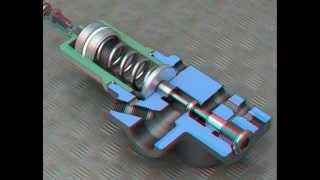 видео Гидравлические клапаны давления
